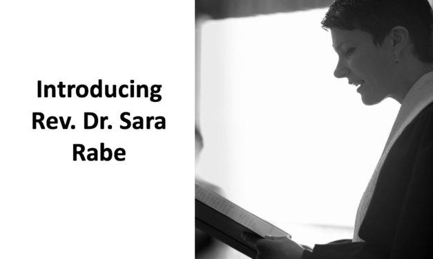 Rev. Dr. Sara Rabe